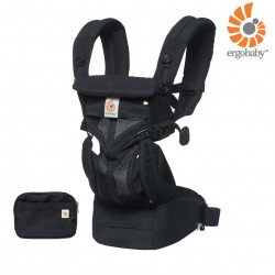 Ergobaby เป้อุ้ม Omni 360 Cool Air Mesh - Onyx Black