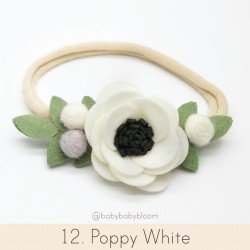Babybloom Poppy  White