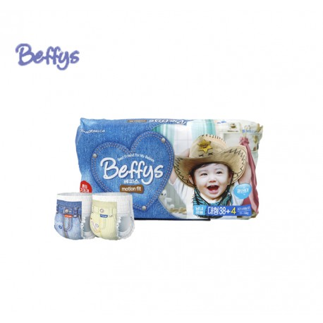Beffys Pant Diapers Motion fit size L42 (10-14kg)