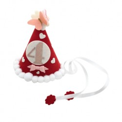 CHIRA BIRTHDAY PARTY HAT (Red)
