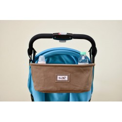 Leeya Storage Bag for Stroller - Brown