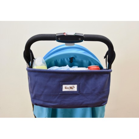Leeya Baby Store&Colorland - Storage Bag for Stroller - สีน้ำเงิน - Blue