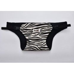 Leeya Portable Baby Harness - Zebra