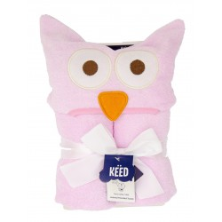KEED Hooded Towel - OWL