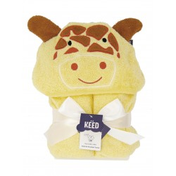 KEED hooded towel - GIRAFFE