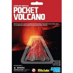 4M ของเล่น Kidz Labs Pocket Volcano