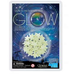 4M ของเล่น Glow in The Dark Mini Stars 60 pcs