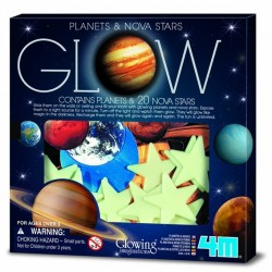 4M ของเล่น Super Nova 20Pcs With Planets