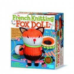 4M ของเล่น French Knitting Fox Doll