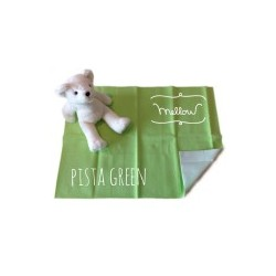 Mellow Quick dry Quick dry Pee Pads, Waterproof Fabric 100% SIZE S (50x70 CM) Pista Green