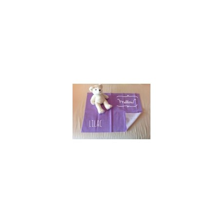 Mellow Quick dry Quick dry Pee Pads, Waterproof Fabric 100% SIZE L (100x140 CM) Lilac