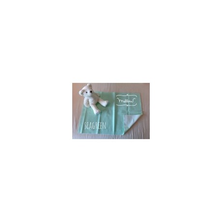 Mellow Quick dry Quick dry Pee Pads, Waterproof Fabric 100% SIZE L (100x140 CM) Seagreen