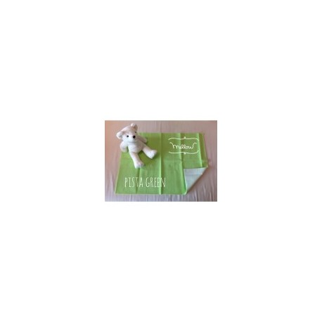 Mellow Quick dry Quick dry Pee Pads, Waterproof Fabric 100% SIZE L (100x140 CM) Pista Green