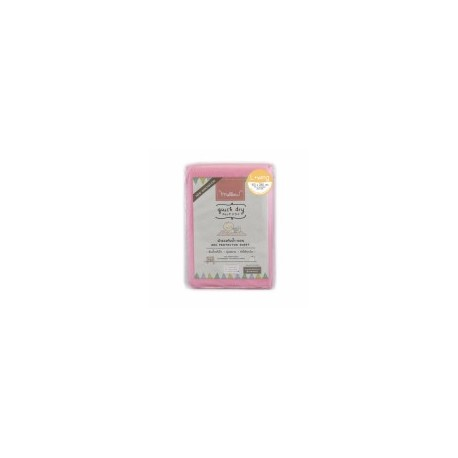 Mellow Quick dry Pee Pads, Waterproof Fabric 100% The wings are inserted under the mattress SIZE L (100x140 CM) Pink