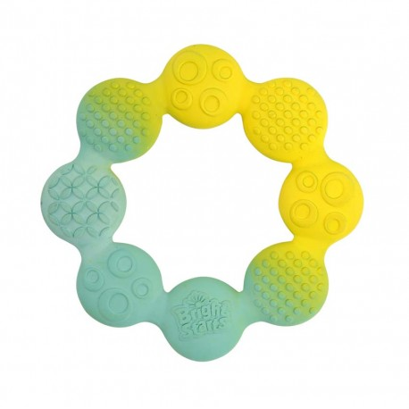 Bright Starts - Natural Rubber Ring Teether