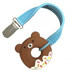 Funzone Mini Bear Teether & Strap Set
