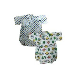 Palm & Pond Japan Style Newborn Suite JINBEI 100% Cotton 2 Pack no. 54
