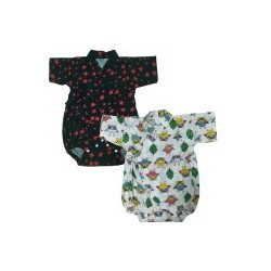 Palm & Pond Japan Style Newborn Suite JINBEI 100% Cotton 2 Pack no.66