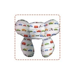 Palm & Pond Crab Pillow 2in1 Cotton 100% Car Striped