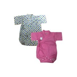 Palm & Pond Japan Style Newborn Suite JINBEI 100% Cotton 1 pack 2 ea no.49