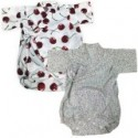 Palm & Pond Japan Style Newborn Suite JINBEI 100% Cotton 1 pack 2 ea no.31