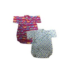 Palm & Pond Japan Style Newborn Suite JINBEI 100% Cotton 2ea/pack no.362