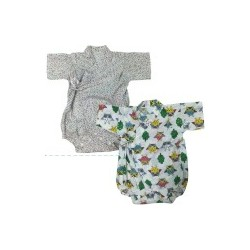 Palm & Pond Japan Style Newborn Suite JINBEI 100% Cotton แพ็ค 2 ตัว รุ่นที่ 64