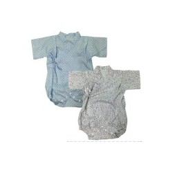 Palm & Pond Japan Style Newborn Suite JINBEI 100% Cotton 2pcs/pack no.59