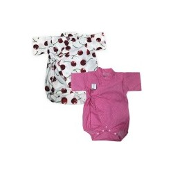 Palm & Pond Japan Style Newborn Suite JINBEI 100% Cotton 2pcs/pack no.29