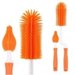 Pognae ML Bottle brush Silicone Set orange (MLB101-02)