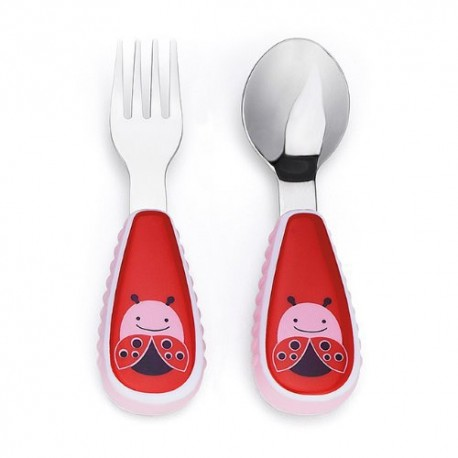 SKIP HOP This adorable fork & spoon