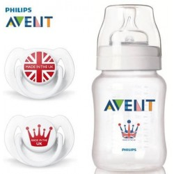 AVENT PRO ขวดนม รุ่น ROYAL BOTTLE+SOOTHER GIFT SET