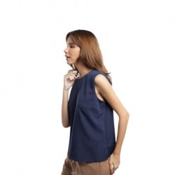 QueenCows เสื้อให้นม : Any Solid Arm Vest (Navy)