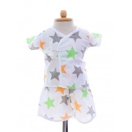 Shawn's Baby Short sleeve shirt with shorts Star Cartoon
