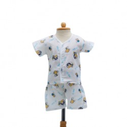 Shawn's Baby Baby Cloth Set Bee cartoon (Size S)