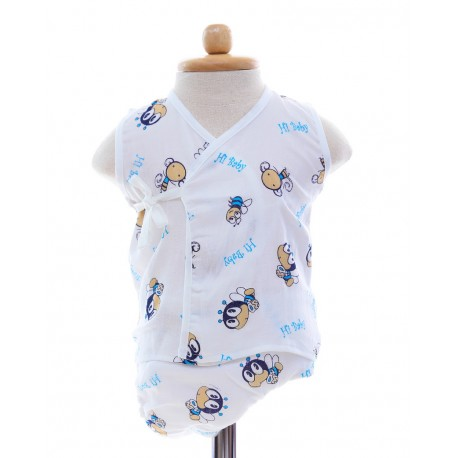 Shawn's Baby Baby Sleeveless Diaper Suite Bee catoon