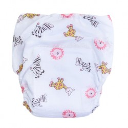 Shawn's Baby Diaper Pants Pink cartoon animals
