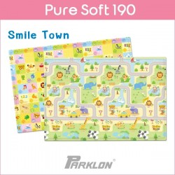 PARKLON Pure Soft Play Mat Size 130x190x1.2cm (Smile Town)