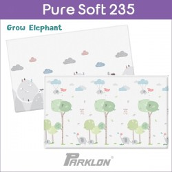 PARKLON Pure Soft Play Mat Size 140x235x1.5cm (Grow Elephant)