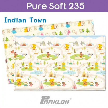 PARKLON Pure Soft Play Mat Size 140x235x1.5cm (Indian Boy)