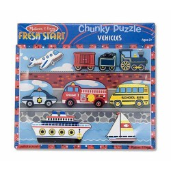 Toybies Vehicles Chunky Puzzle
