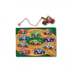 Toybies Magnetic Puzzle Game – Tow Truck